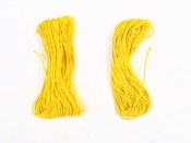 "Yellow 1/8"" Poly Cord"